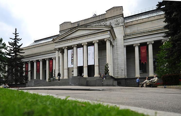 Здание Государственного музея изобразительных искусств им. А.С. Пушкина