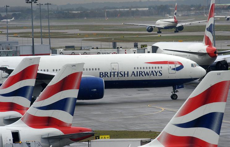 Компьютерный сбой задержал рейсы British Airways