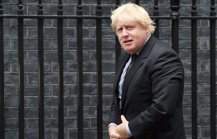 Руководитель МИД Англии Джонсон поддержал план Лаврова— Керри поСирии