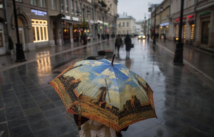 «Оранжевый» уровень опасности погоды объявлен в столице иПодмосковье назавтра