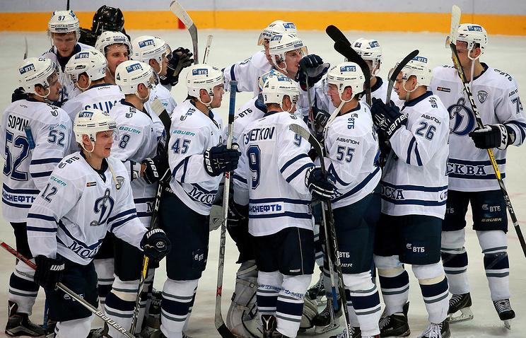 «Динамо» (Москва) продлило серию поражений «Динамо» (Рига) вКХЛ до 5-ти игр