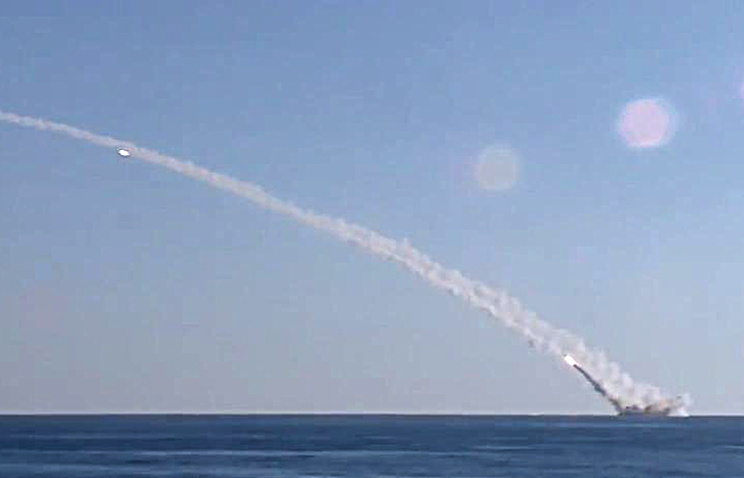 Атомная подлодка Северного флота удачно  запустила крылатую ракету