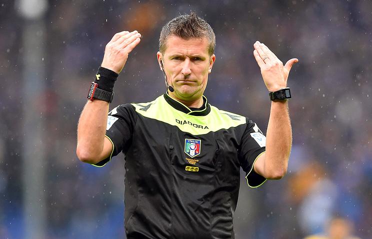 Итальянский арбитр Орсато обслужит матч Лиги чемпионов междуФК «Ростов» и«Атлетико»