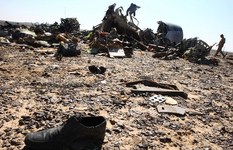 МАК установил факт взрывной декомпрессии впроцессе полета русского A321 над Синаем