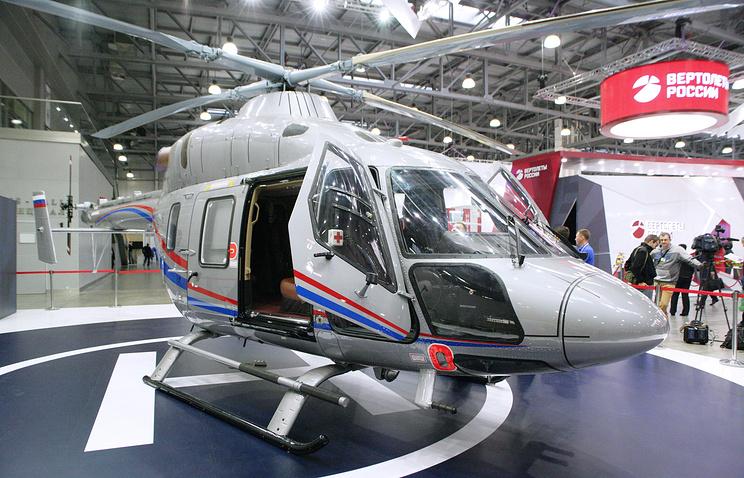 Холдинг «Ростеха» поставит в КНР 18 вертолетов