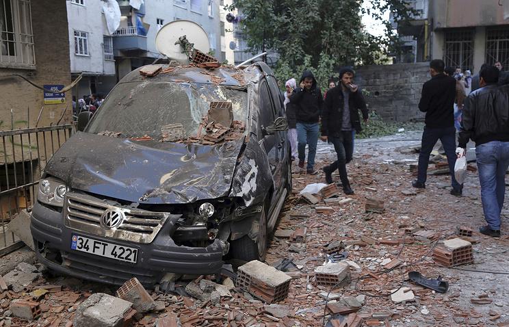 При взрыве наюго-востоке Турции погибли двое детей