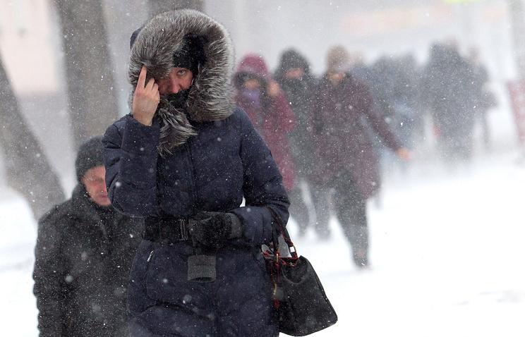 Вобластях Центральной РФ объявлен «оранжевый» уровень опасности погоды