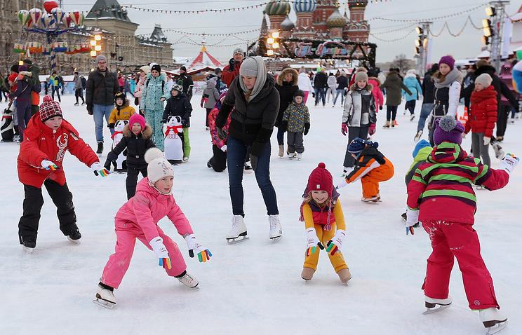 Каток наКрасной площади откроется вконце ноября