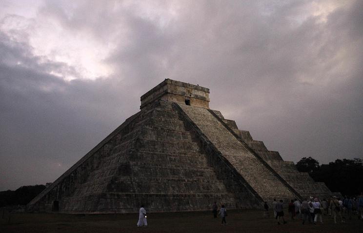 Профессионалы США иМексики отыскали пирамиду внутри древнейшей пирамиды майя