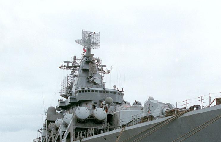 Крейсер «Маршал Устинов» после ремонта получил новое радиоэлектронное оружие
