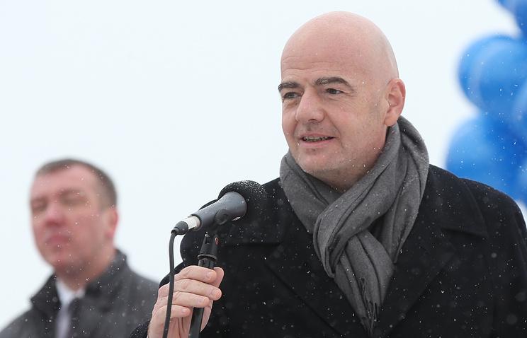 Руководитель ФИФА уверен, что стадион наКрестовском будет готов всрок