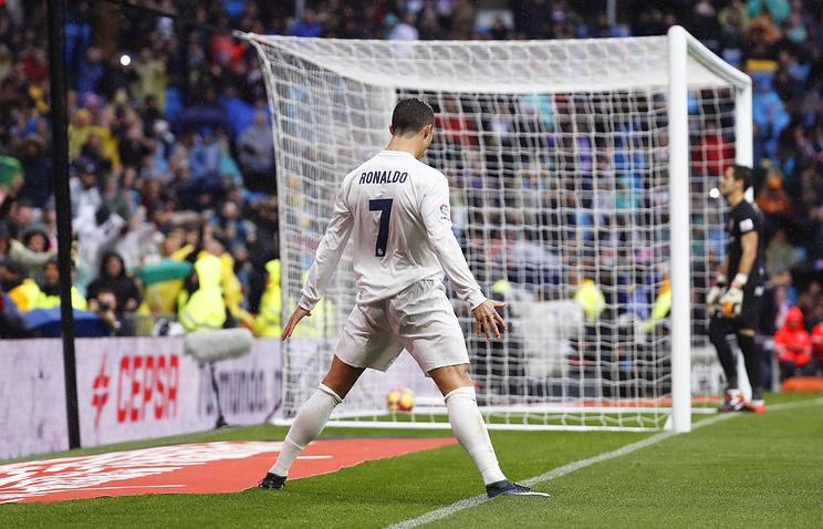 Роналду установил рекорд вчемпионате Испании