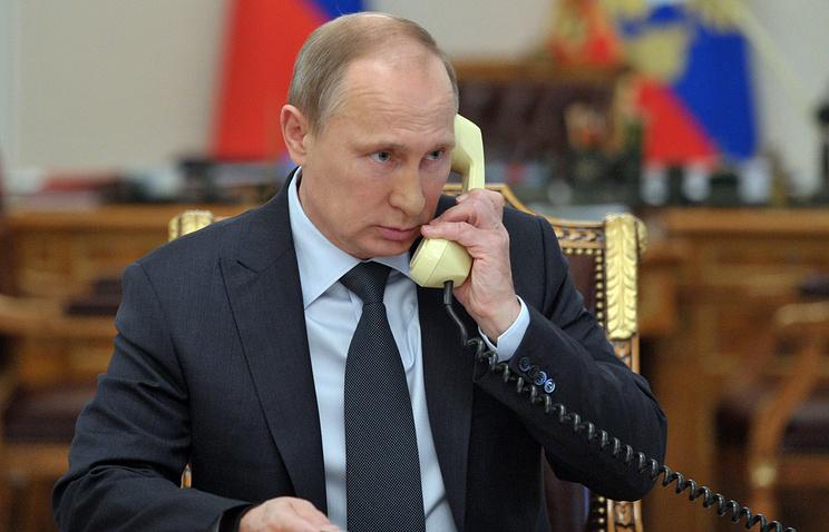 Путин договорился спрезидентом Ирана понефти иСирии