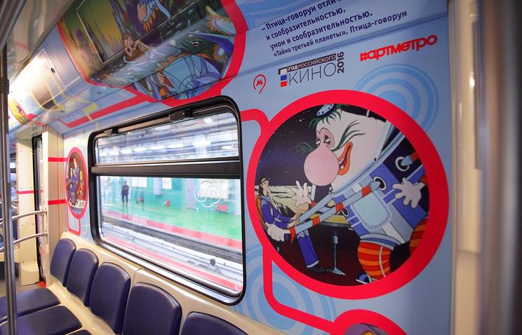 Герои мультипликационных фильмов будут объявлять станции вмосковском метро