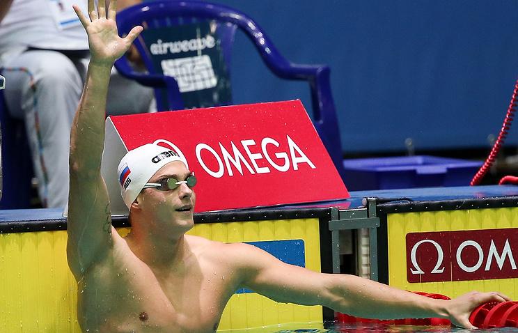 Плавание. Морозов выступит в 2-х финалах начемпионате мира