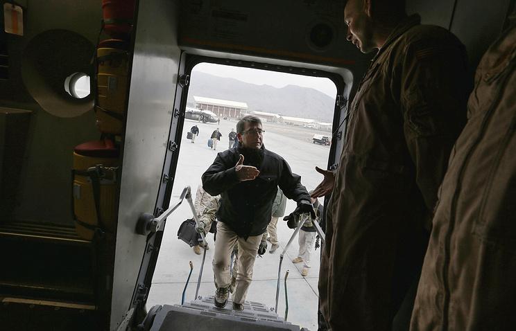 Министр обороны США прибыл снеанонсированным доэтого визитом вАфганистан