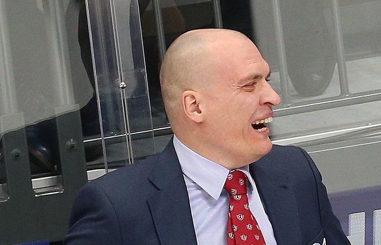 Андрей Разин сменил Андрея Соколов напосту основного тренераХК «Югра»