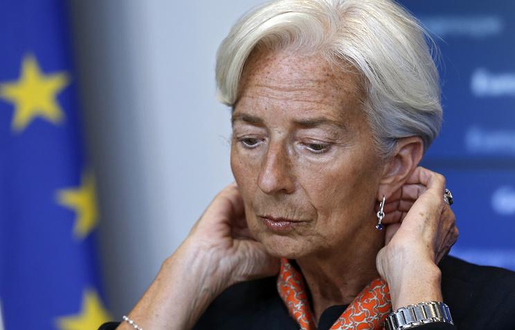 Директор–распорядитель Международного Валютного Фонда (МВФ) Кристин Лагард
