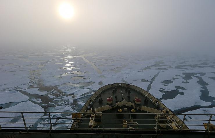 Через Северный морской путь в2016г.перевезено рекордное количество грузов