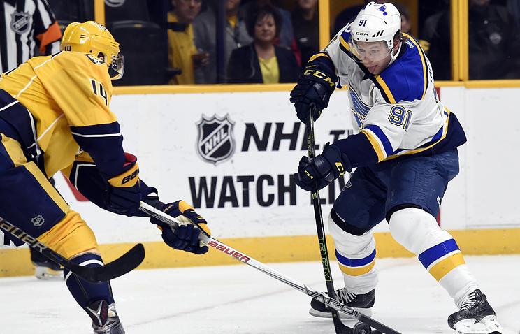 Тарасенко вышел наединоличное 2-ое место втекущей гонке бомбардиров НХЛ