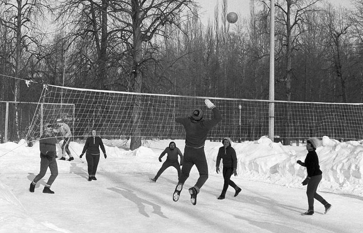 Волейбол наснегу официально признан видом спорта в Российской Федерации