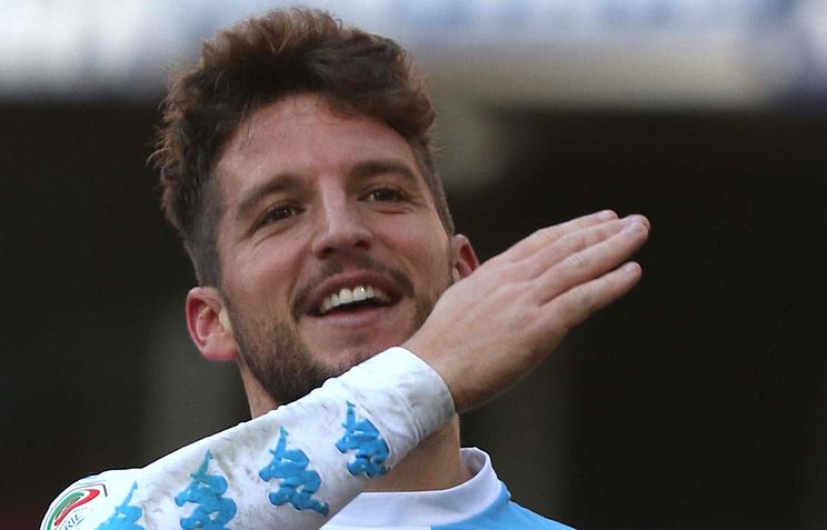 4 гола Мертенса помогли «Наполи» обыграть «Торино» вматче серии А
