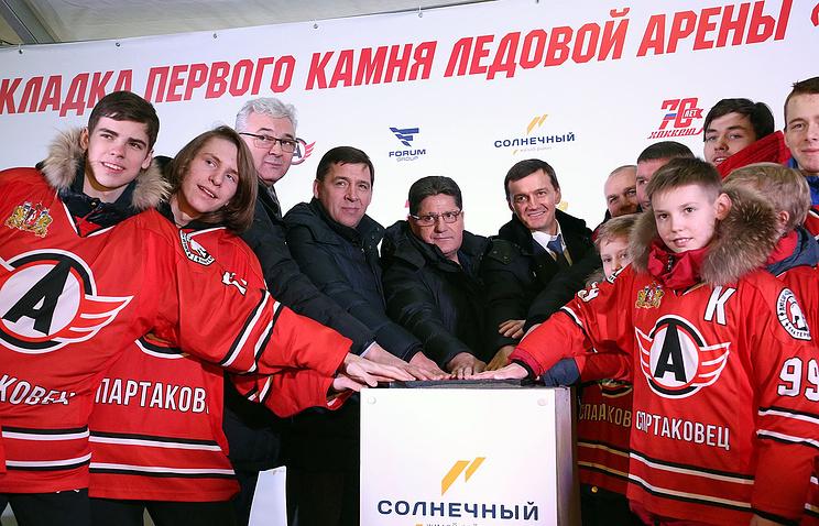 Вмикрорайоне «Солнечный» Екатеринбурга построят новейшую ледовую арену