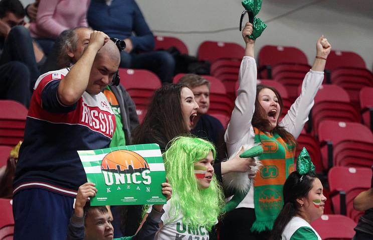 Баскетбольный УНИКС вгостях переиграл литовский «Жальгирис»