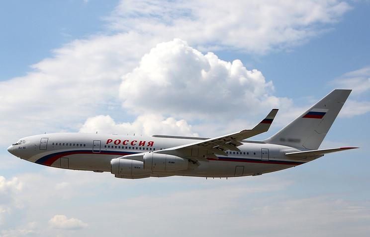 Дипломатов вывезут изсоедененных штатов самолетом особого летного отряда «Россия»