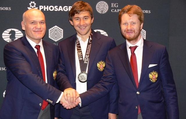 Гроссмейстер Сергей Карякин стал чемпионом мира поблицу