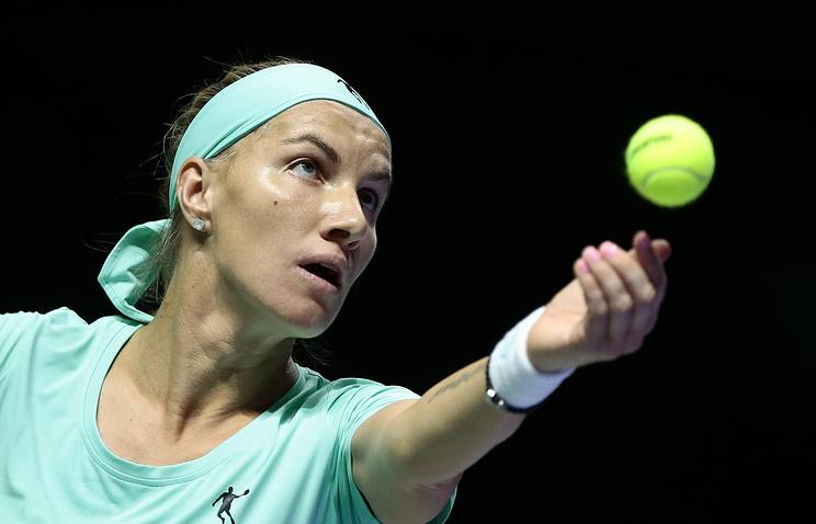 Светлана Кузнецова одержала 600-ю победу ивплотную приблизилась кШараповой