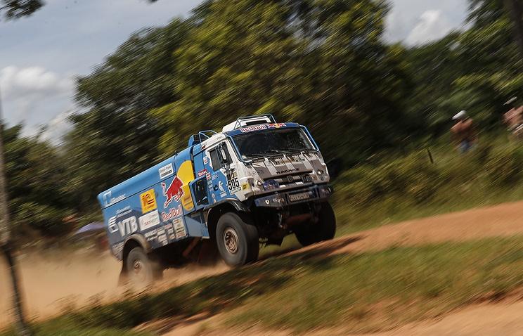 «Дакар-2017»: после 3-го этапа Вязович вшаге оттройки лидеров