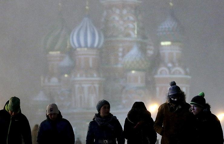Москвичи пережили самую холодную ночь сначала зимы