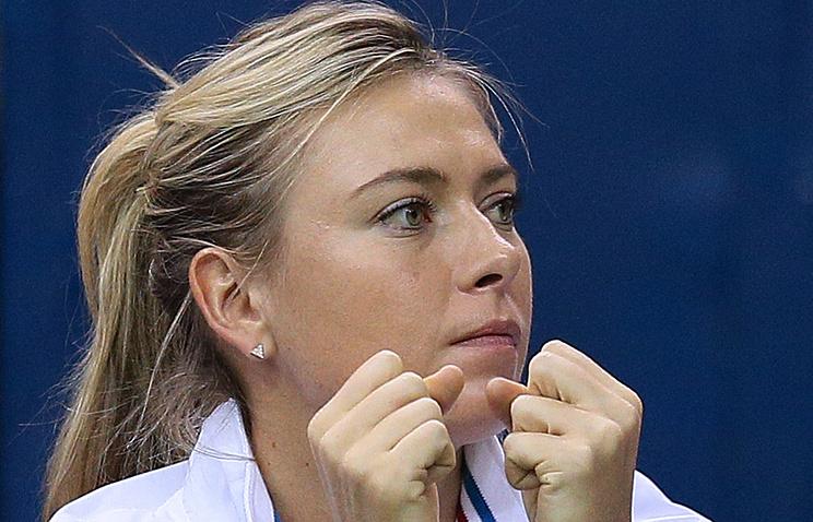 Мария Шарапова впервый раз  выйдет накорт после дисквалификации всередине весны