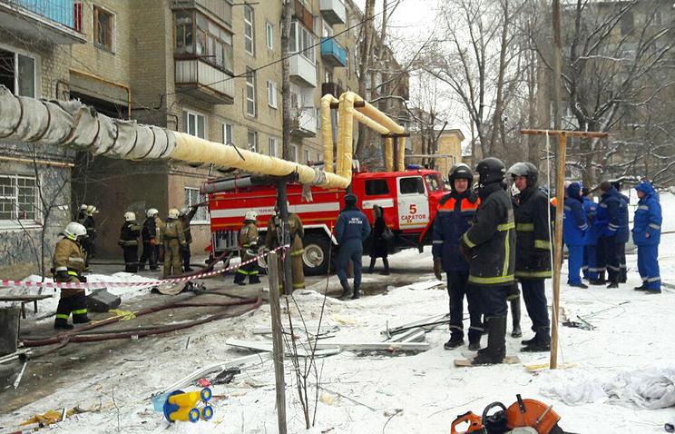 Путин поручил помогать  пострадавшим отвзрыва газа вСаратове