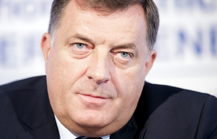 США ввели санкции против президента Республики Сербской