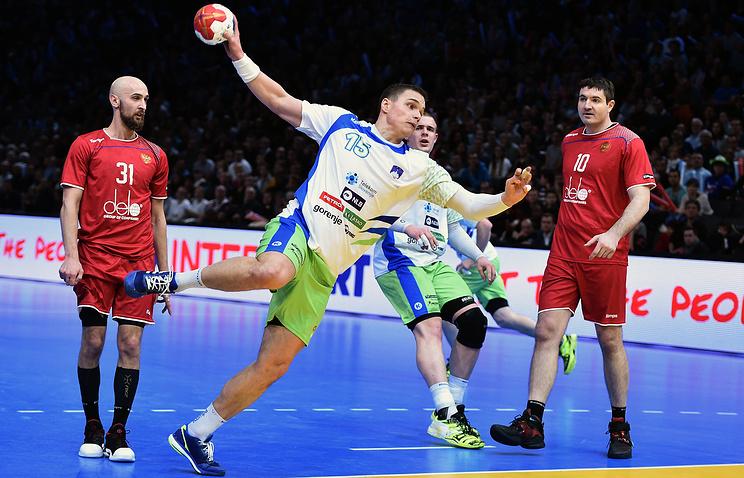 Сборная Российской Федерации проиграла Словении в1/8 финалаЧМ погандболу