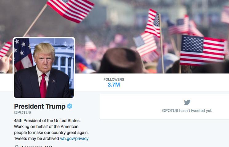Твиттер поошибке подписал около 560 тыс. человек напрезидентский аккаунт Трампа