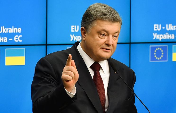 Порошенко: Украина никогда неоткажется отДонбасса