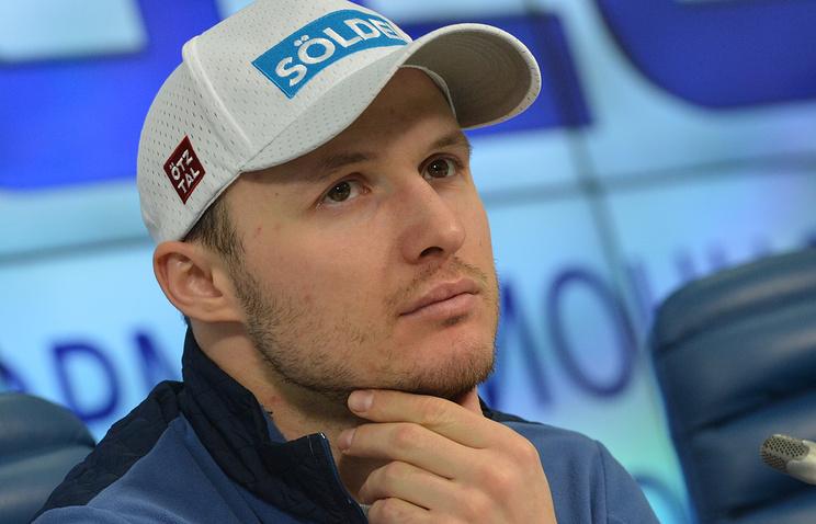 Александр Хорошилов— призёр этапа Кубка мира погорнолыжному спорту