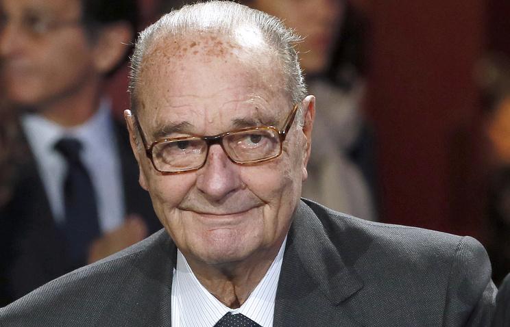 Жака Ширака посоветовали выдвинуть наНобелевскую премию мира