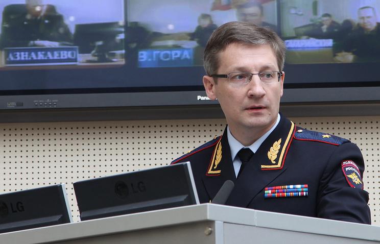 Министр МВД Татарстана Артем Хохорин
