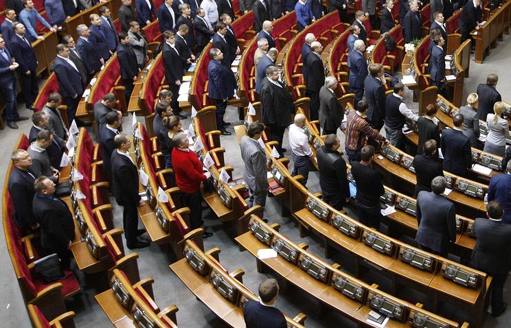 ВРаде утверждают омассовом уходе депутатов изфракции БПП