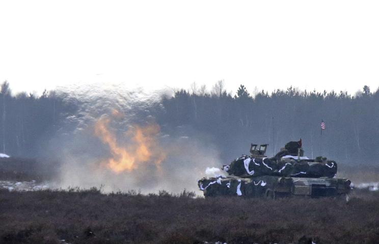 США перебросят танки изПольши встраны Балтии