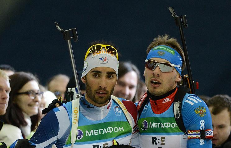 Фуркад объявил, что ожидает приглашения русских биатлонистов «выпить водки»