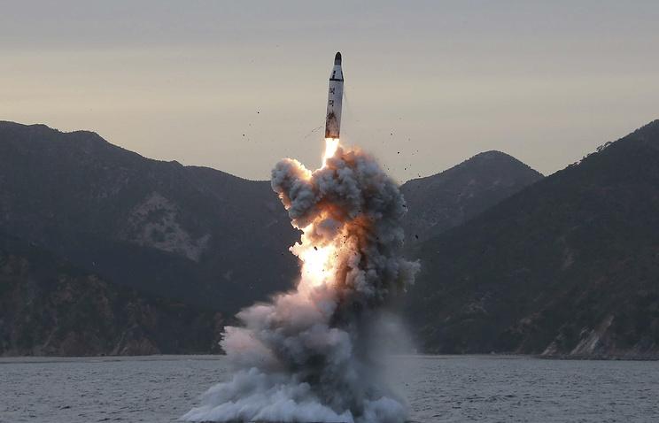 КНДР объявила обуспешном испытании баллистической ракеты