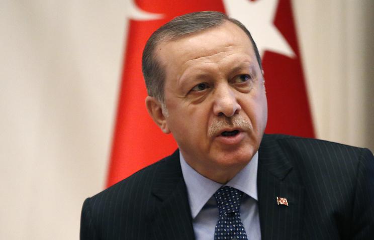Президент Турции назвал целью операции вСирии освобождение приграничных районов