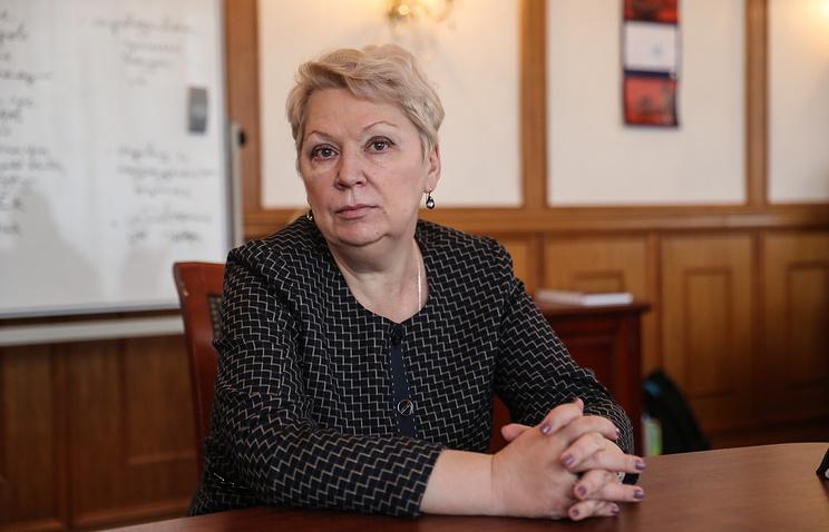 Министр образования и науки РФ Ольга Васильев