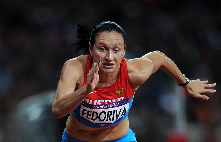 Русская бегунья Федорива возвратила золотую медаль Олимпиады-2008 вэстафете