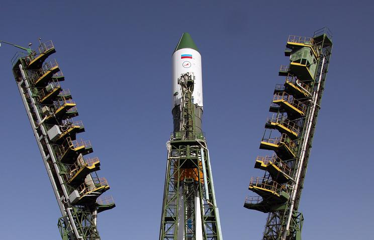 Заключительная вистории ракета «Союз-У» установлена настарт